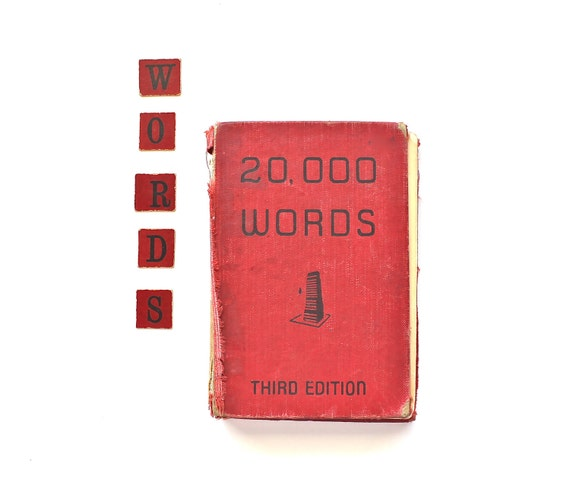 No Loss for Words - Vintage 1951 20000 Words