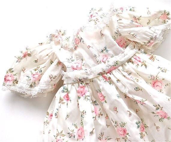 Darling - Vintage Shabby Chic Baby Dress