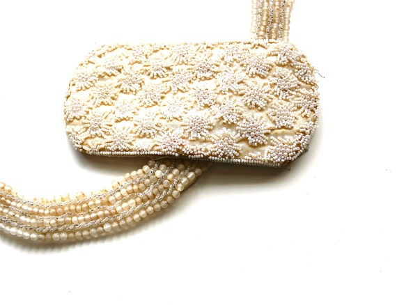 Beaded Beauties - Vintage Eyeglass Case and Collar Made in Japan