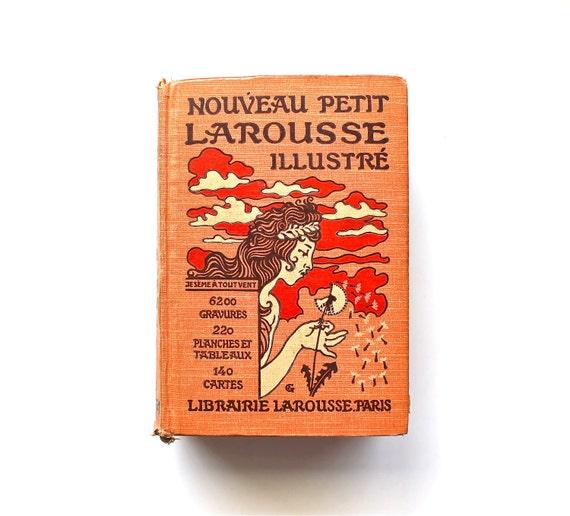 Fancy French - Antique 1926 French Larousse Illustrated Encyclopedia