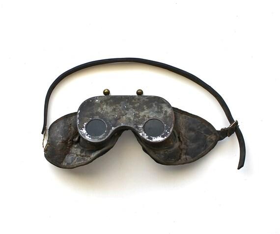 He Went to War - Vintage World War 2 Goggles