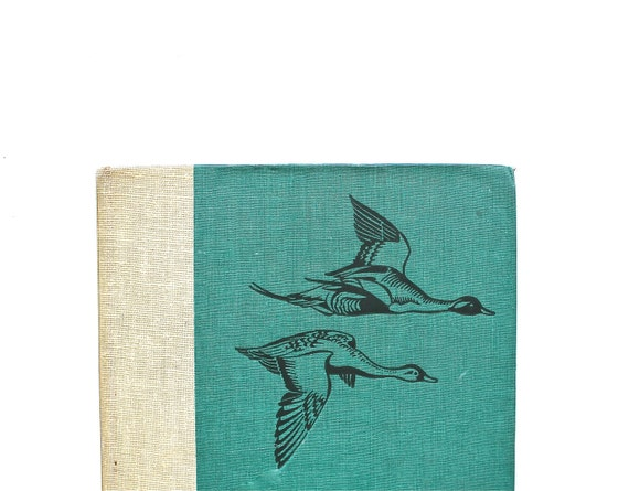Birds and Eggs - Antique 1936 Bird Book With 106 Full Color Plates