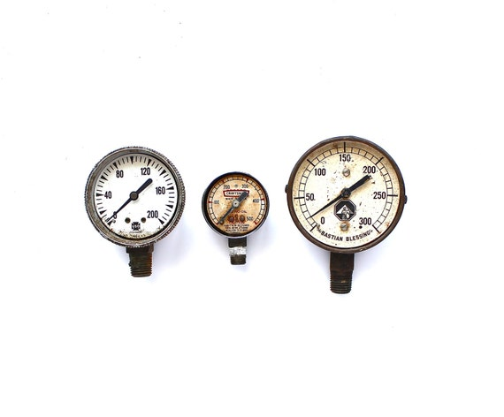 Measure by Measure - Vintage Steampunk Gauges