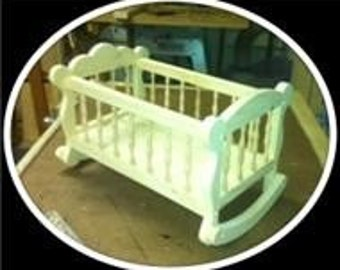 Mary Poppins Doll Cradle