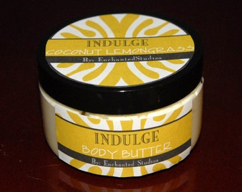 Coconut Lemongrass Whipped Body Butter