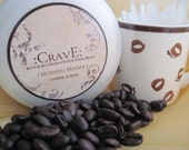 Crave Morning Mocha Exfoliating Coffee Scrub 4oz jar