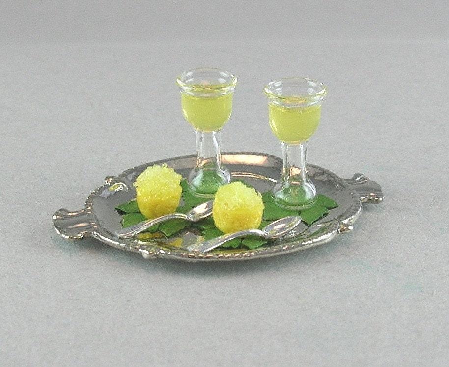 Lemon Granita Dessert and Limoncello Liqueur by EverydayGourmet