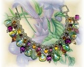Waterfall Flower Garden Bracelet