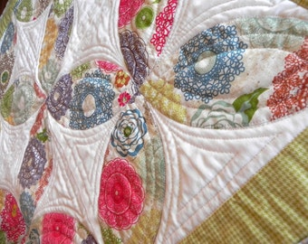 SALE Restoration Table Topper Quilt