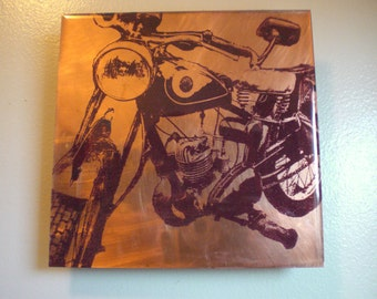 AJS Motorcycle Painting