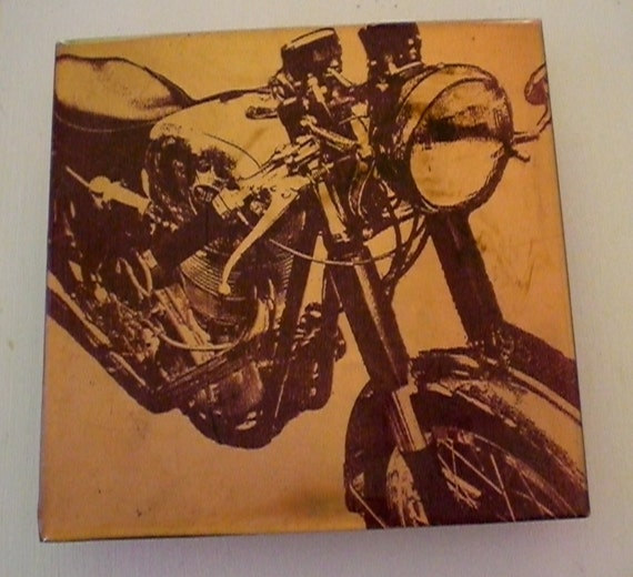 BSA Motorcycle Painting