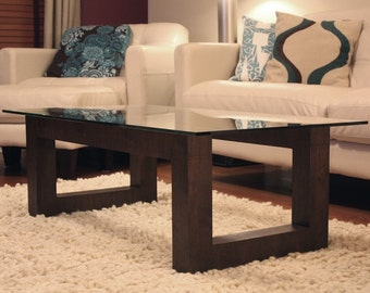 Fife Coffee Table - Stained Walnut