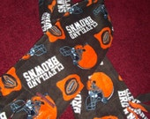 Fleece CLEVELAND BROWNS Scarf (Football and Helmet Print)