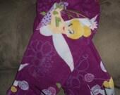 Plum Purple Disney Tinkerbell Fleece Scarf