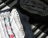 Vintage Lace Robin Onesie