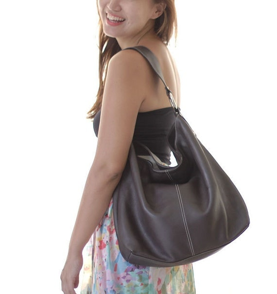 RESERVED brown leather tote bag shoulderbag LAST ONE