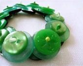 Apple Pie Vintage Button Bracelet