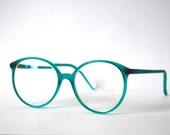 Nerd Retro Pro Design Turquoise Eyeglasses Denmark