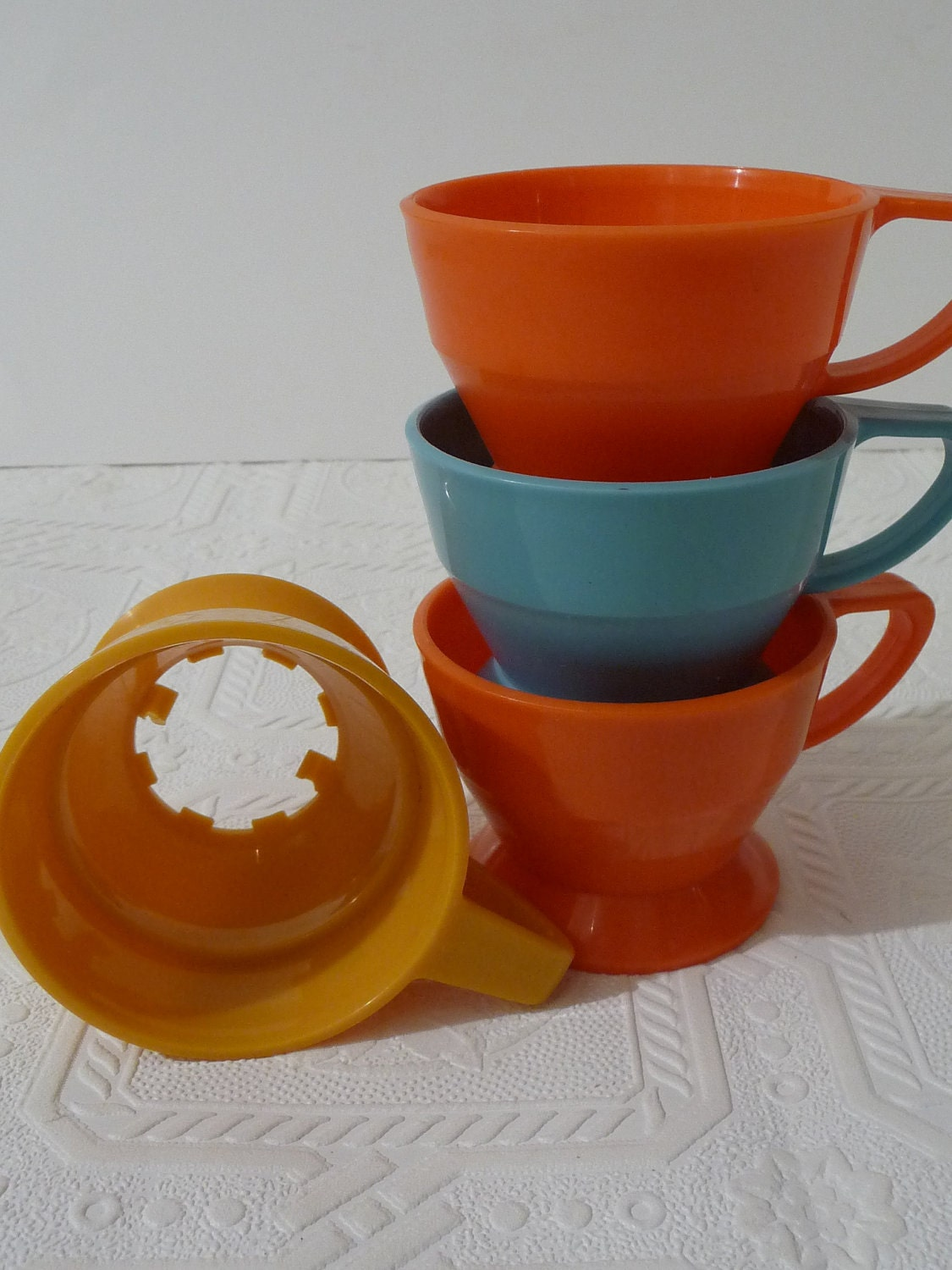 Vintage Solo Cup Cup Holders Plastic Cup Holder Colorful