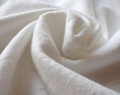 """White Flannel - 58/59"""" Width - 8.5oz. Weight - 1 yrd. - Cotton Flannel Fabric"""