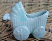 Ceramic Baby Carriage