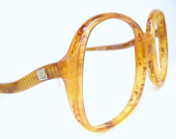 Vintage 70s 80s Big Lens Pierre Cardin Eyeglasses Frame France Never worn