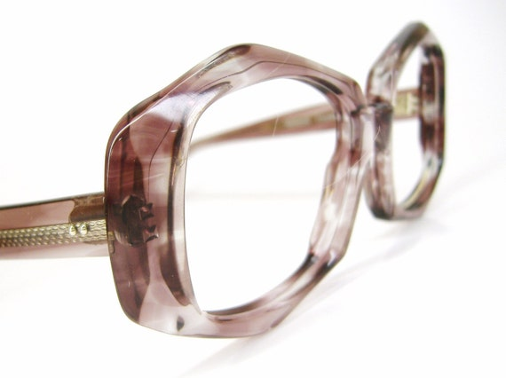 Vintage 60s Violet Eyeglasses  Frame  NOS