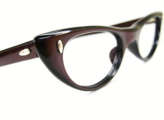 Vintage Eyeglass Frames Etsy : Vintage Cat Eye Glasses Eyeglasses or by Vintage50sEyewear ...