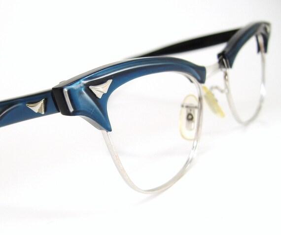 Vintage AO Cat eye Eyeglasses Sunglasses Glasses 1950s Eyewear 12k GF