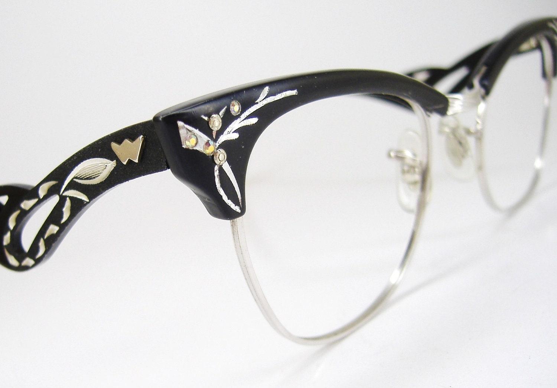 0d0cde3c3d7 Vintage Eyeglasses Frames Eyewear 50 s