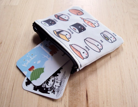 Mini Sushi Lovers Coin Pouch
