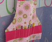 PASTEL PETALS CRAFT APRON