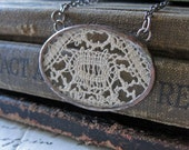Sweet Memories  Vintage Lace Necklace