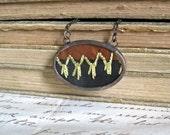 Vintage Crazy Quilt Necklace