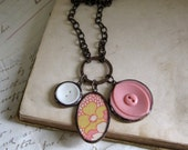 Flower Power Charm Necklace