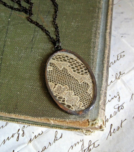 Dreams Remembered Vintage Lace Necklace
