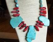 Apache Fire Necklace
