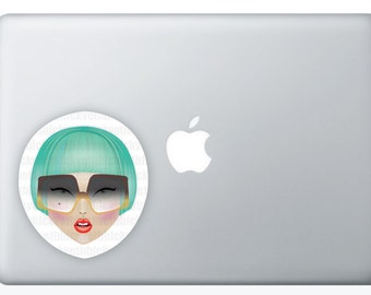 Lady Gaga Vogue II, Sticker