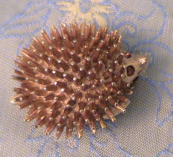 Vintage Sarah Coventry Hedgehog Brooch