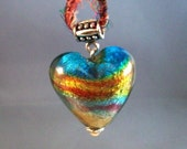 Rainbow Heart Large SALE Made in USA