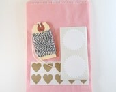 packaging kit - pretty in pink