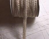 ivory gimp braid trim - 1 yard and 35 inches