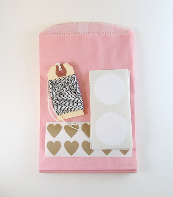 packaging kit - pretty in pink