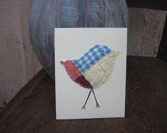 bird cards patchwork