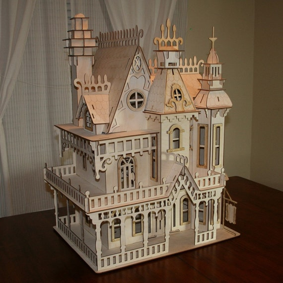 Large Victorian Dollhouse Kit