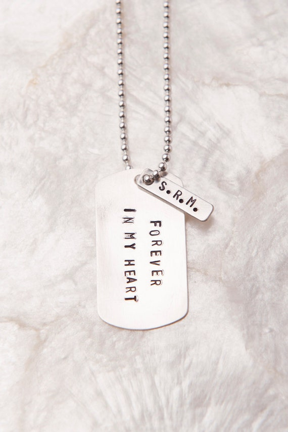 Forever In My Heart, Birth Father Gifts, New Dad Gifts, Personalized Dog Tags, Custom Dog Tag, Adoption Gifts