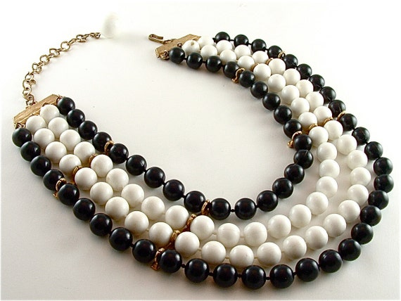 Vintage Collar Necklace, Free US Shipping