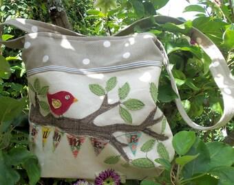 Summer Birdie Bag pdf Pattern