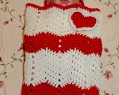Reserved for J Sevigney - Infants Ripple Cocoon and Hat Pattern