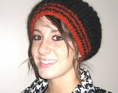 PATTERN - Knitting Pattern Slub Hat BULKY Weight Yarn Brioche Stitch